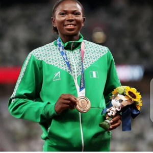 #Tokyo2020 Ese Brume Scoops Nigeria's First Medal