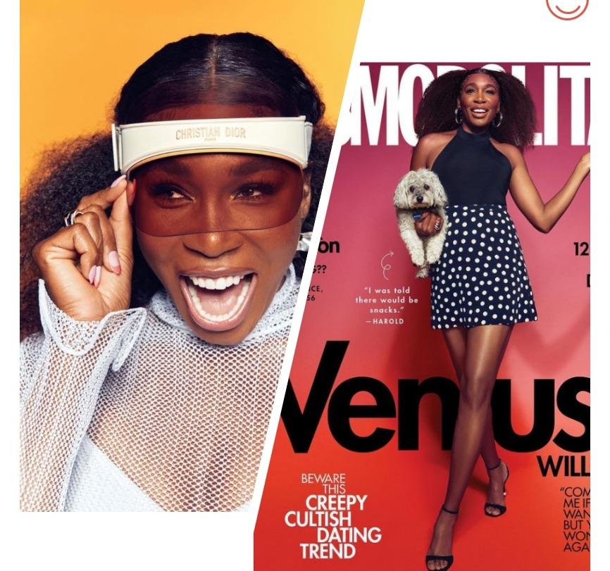Venus Williams for Cosmopolitan