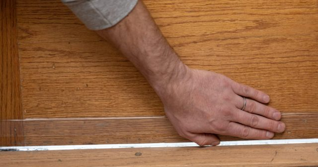 How To Install Adhesive Door Sweeps