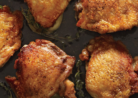 how to cook duck thighs