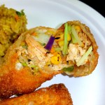 Crunchy Cajun Chicken Eggrolls