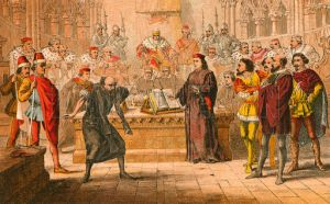 """Shylock. """"Is that the law?"""""""