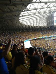 """Colombia vs. Greece World Cup 2014 -  """"A Colombian Home Game"""""""