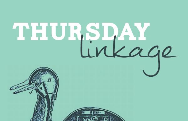 Thursday Linkage