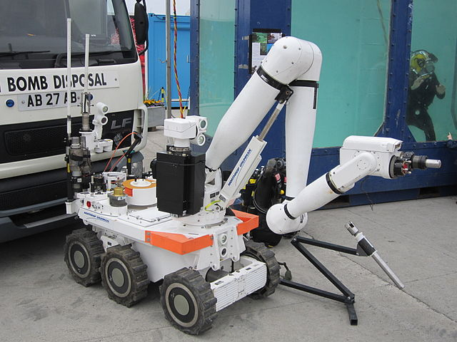 Improvised Explosive Robots