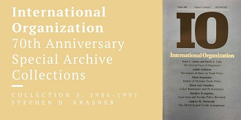 Ideas, Norms and Nonmaterial Factors in International Relations: A response to Krasner