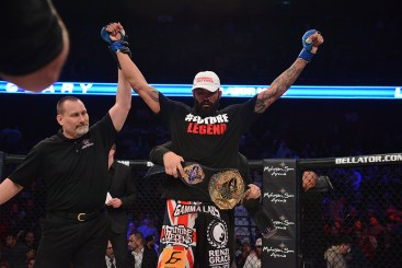 "LIAM MCGEARY BECOMES MMA'S FIRST-EVER BRITISH WORLD CHAMPION AT ""BELLATOR: THE BRITISH INVASION"""