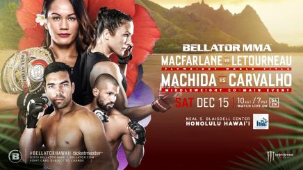 Bellator to Make Hawaii Debut on Dec. 15