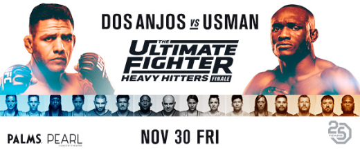 Welterweight War Headlines The Ultimate Fighter: Heavy Hitters Finale