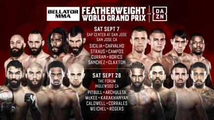 First Round Matchups Official For Bellator Featherweight World Grand Prix
