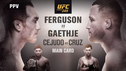 Official UFC 249 Results