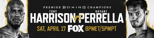 Former Super Welterweight World Champion Tony Harrison Battles Tough Contender Bryant Perrella