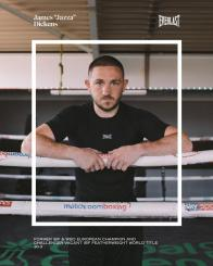 EVERLAST TEAMS UP WITH WORLD TITLE CHALLENGER JAZZA DICKENS