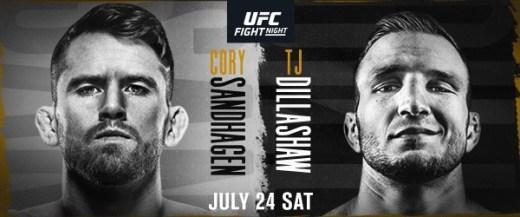 Blockbuster bantamweight headliner at UFC Apex in Las Vegas