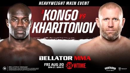 Cheick Kongo Set to Rumble With Sergei Kharitonov