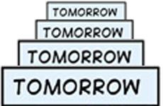 to-to-to-tomorrow