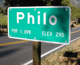 philo (town sign)