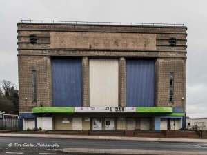 The sad state of the Dudley Hippodrome today. Help us restore this fine building for the benefit of the whole community. © Tim Clarke Photography.