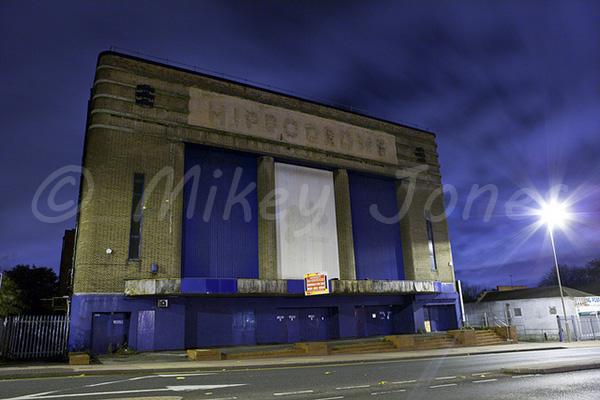 Dudley Hippodrome at Night - November 2010. © Mikey Jones