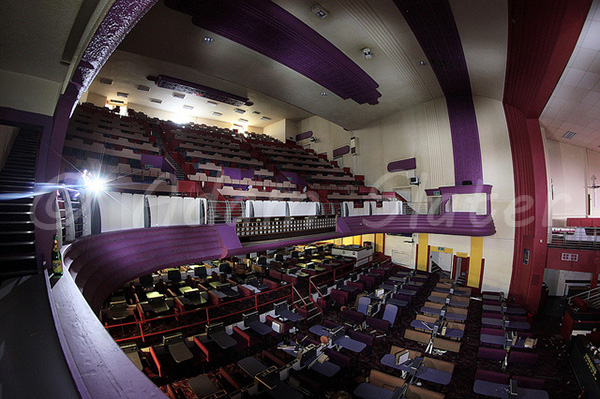 Another view of the splendid auditorium, taken from one of the boxes. It clearly shows the spacious ambience of this fabulous Art Deco building. © Adam Slater,