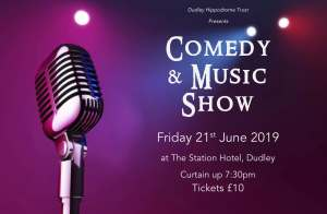 Comedy and Music Show Poster