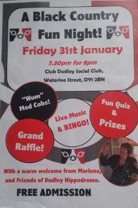 Bingo Night Poster.