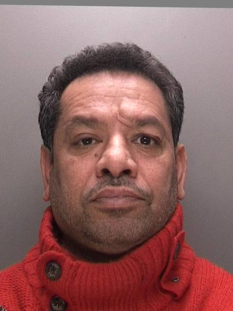 Popinder Singh Kandola was seen collecting £50,000 in Coseley