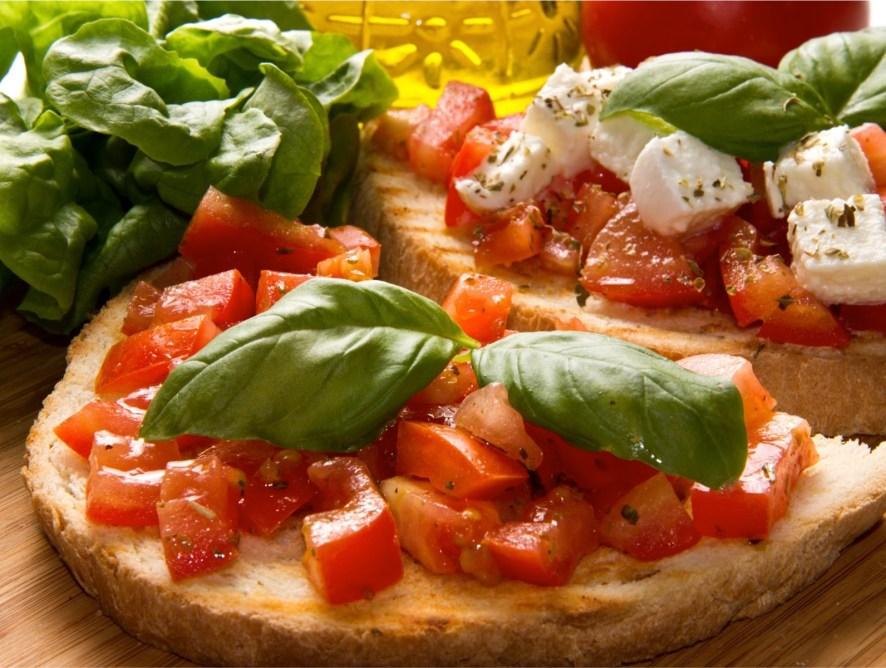 Bruschetta - miła włoska przystawka