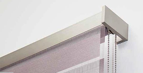 Come coprire finestre di grandi dimensioni o nascondere il rullo nel controsoffitto. Doubble Roller