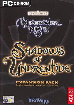 Neverwinter Nights Shadows of Undrentide