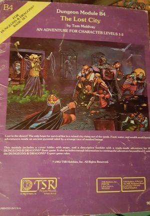 Dungeons and Dragons The Lost City