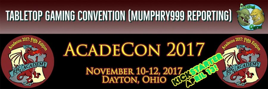 AcadeCon 2017 – Tabletop Gaming Convention