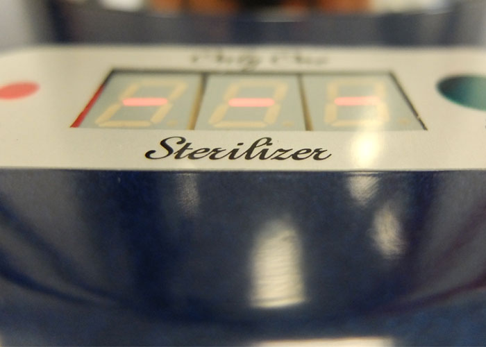 only one stirilizer