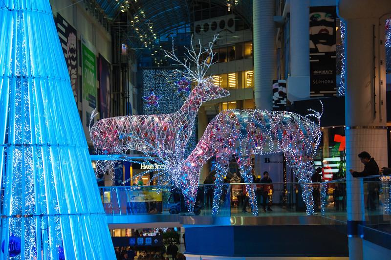 Eaton Centre Christmas lights
