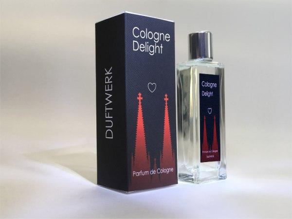 Parfum Cologne Delight Schachtel und Flakon