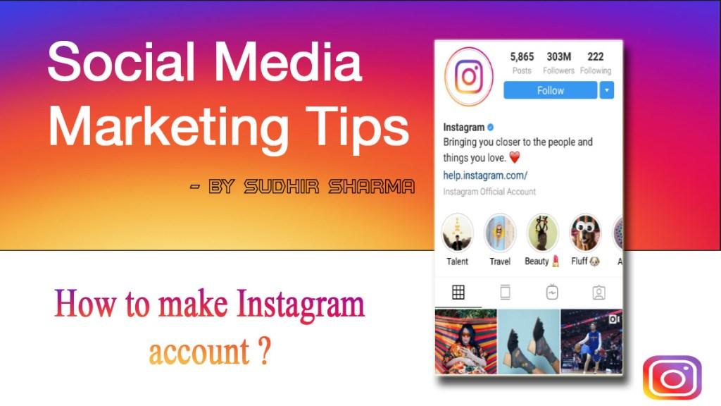 Instagram Marketing Tips By Sudhir Sharma