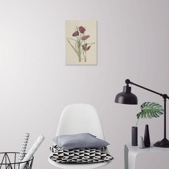 Charles Rennie Mackintosh Fritillaries Poster