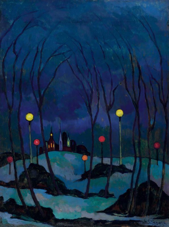 Winter Evening William S. Schwartz