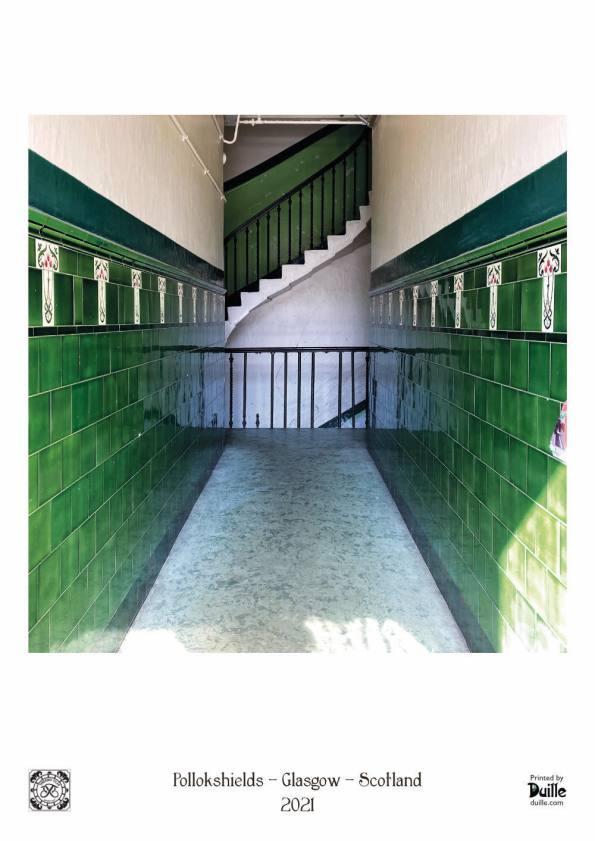 Tenement Tiles: Pollokshields