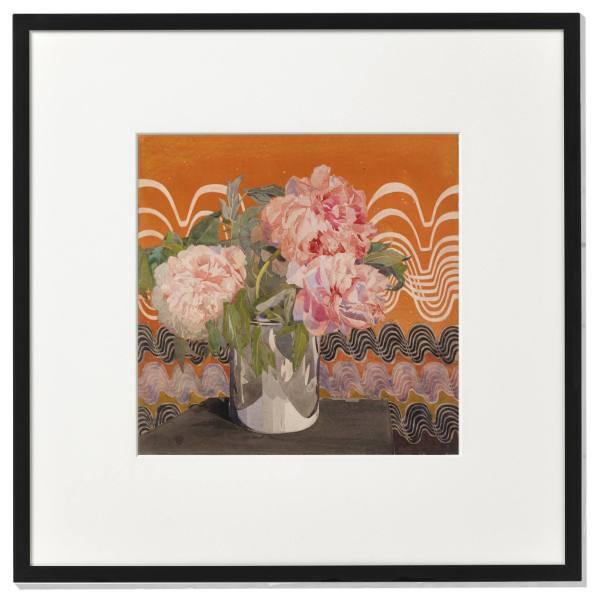 Peonies. Charles Rennie Mackintosh. - framed print.