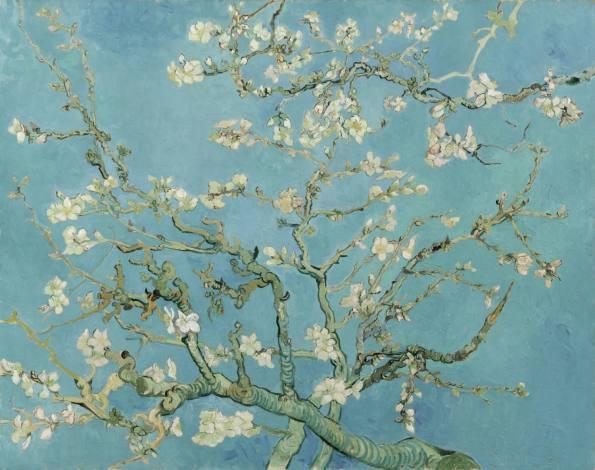 Almond Blossoms - Vincent van Gogh