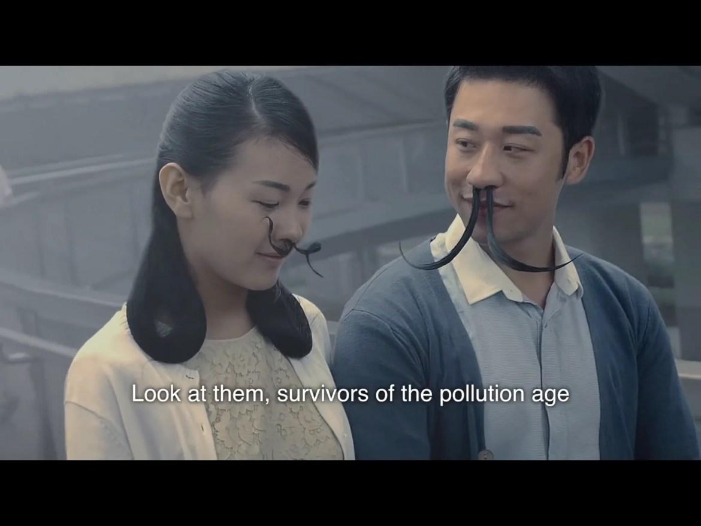 Neushaar tegen smog