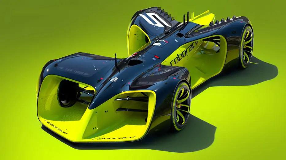 Roborace: voorproefje van de zelfrijdende raceauto