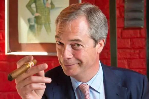 Reacties op vertrek Nigel Farage