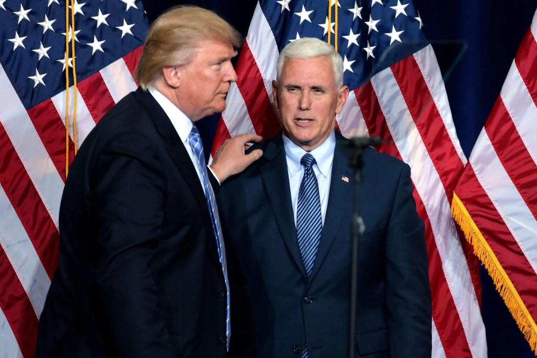 Mike Pence kan Trump afzetten