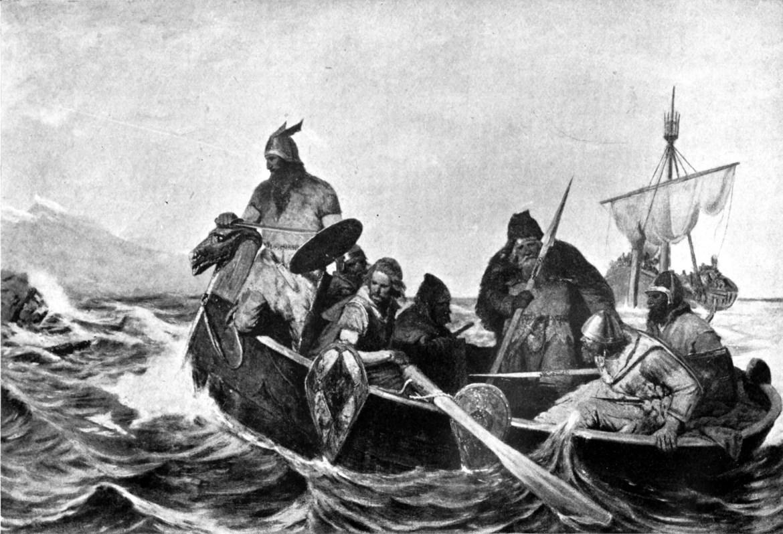 Die boreale Vikingen waren best wel multiculti