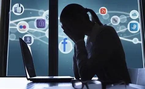 Social distancing op social media
