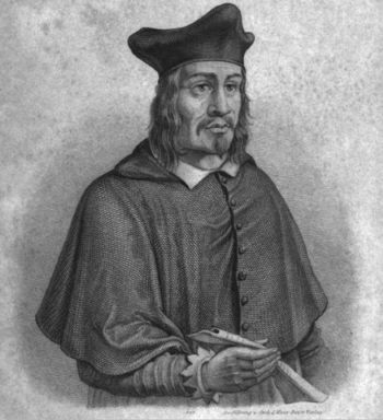 Angelus Silesius, tekening uit 1892