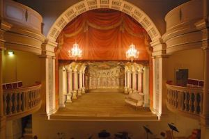 Theater in slot Friedenstein in Gotha
