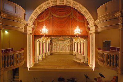 Theater in slot Friedenstein in Gotha